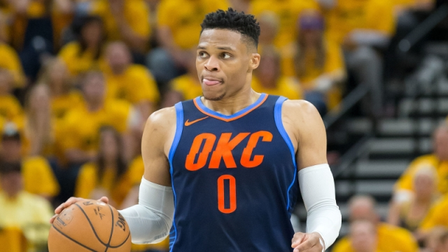 Thunder point guard Russell Westbrook