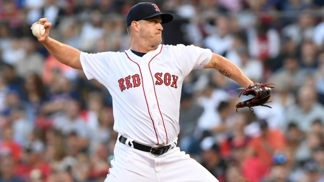 Boston Red Sox Relief Pitcher Steven Wright