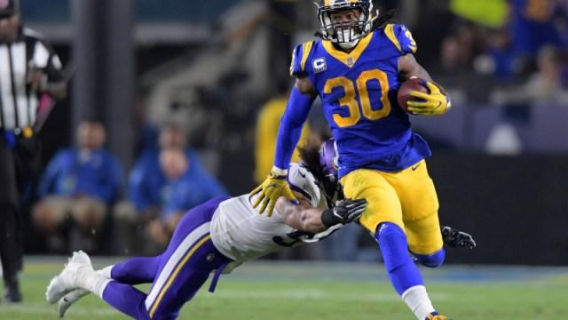 Los Angeles Rams running back Todd Gurley