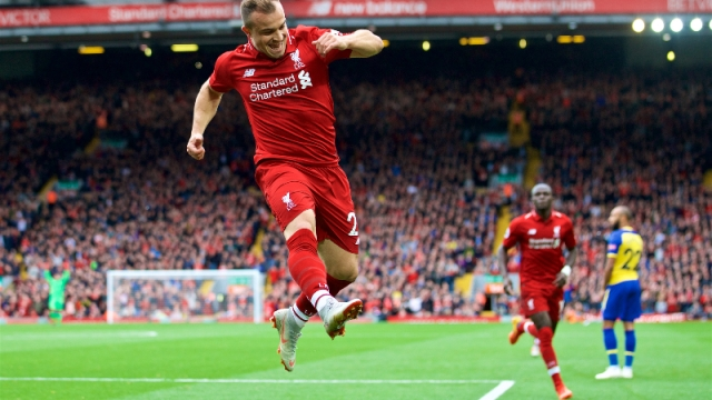 Liverpool forward Xherdan Shaqiri