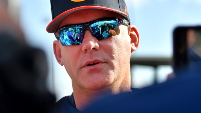Former Houston Astros manager A.J. Hinch