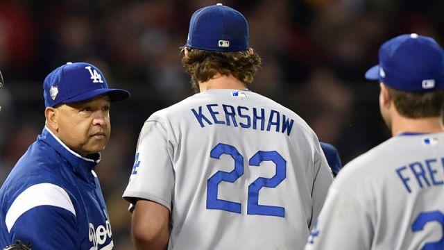 Los Angeles Dodgers pitcher Clayton Kershaw