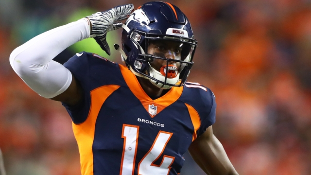 Broncos wide receiver Courtland Sutton