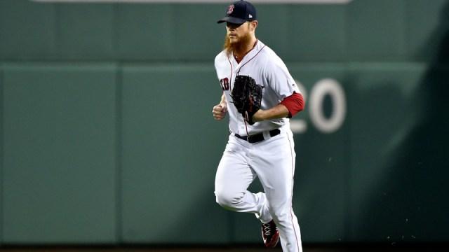 Red Sox closer Craig Kimbrel