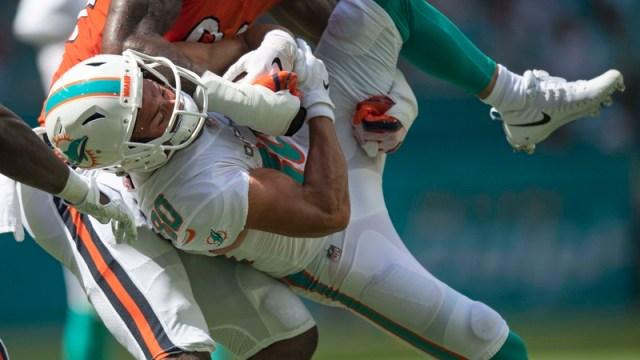 Dolphins wide receiver Danny Amendola