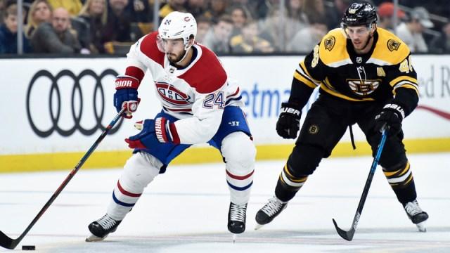 Bruins forward David Krejci