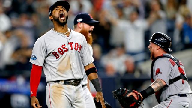 Boston Red Sox Third Baseman Eduardo Nunez