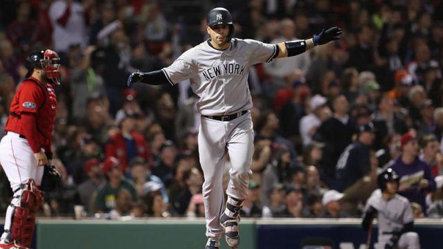 New York Yankees catcher Gary Sanchez