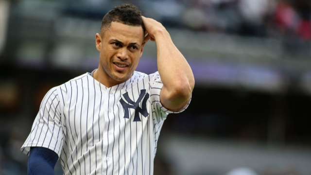New York Yankees slugger Giancarlo Stanton