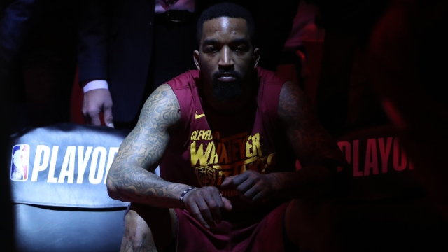 Cleveland Cavaliers forward J.R. Smith