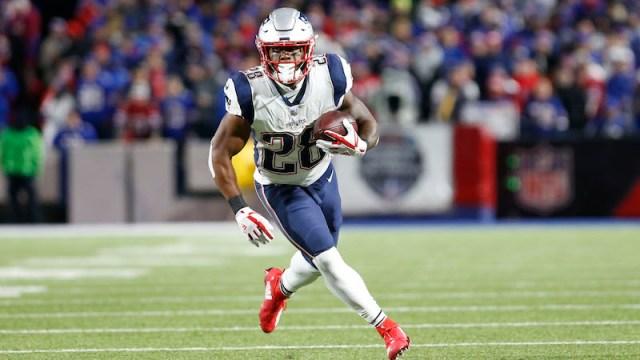 Patriots running back James White