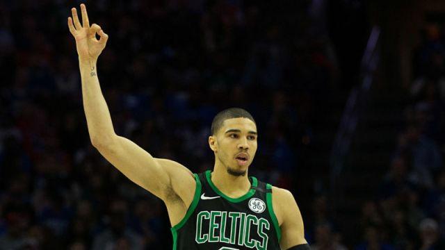 Boston Celtics forward Jayson