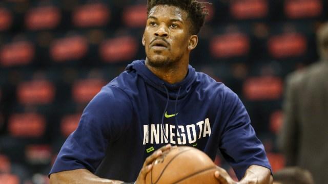 Minnesota Timberwolves guard Jimmy Butler
