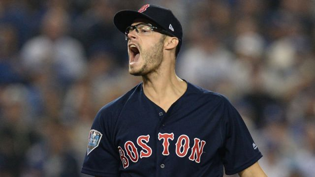 Boston Red Sox pitcher Joe Kelly