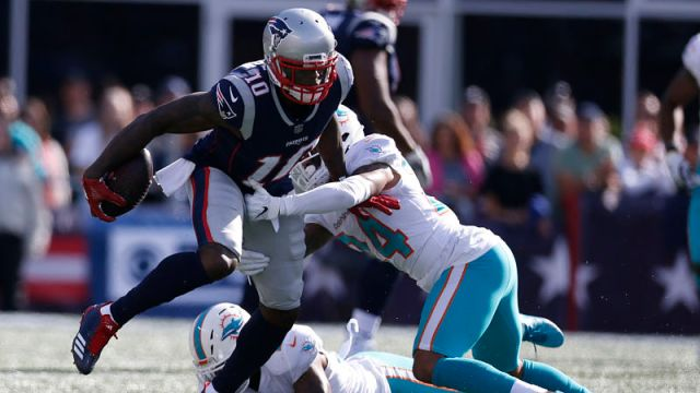 New England Patriots wide receiver Josh Gordon