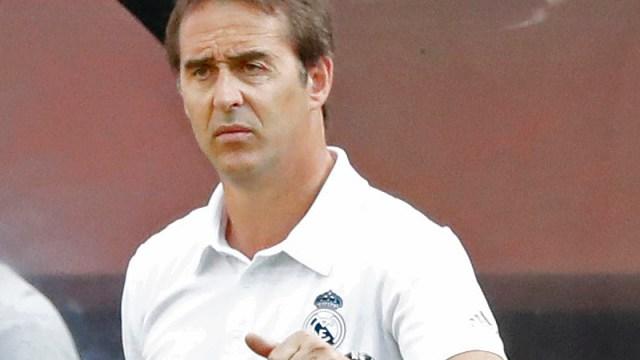 Ex-Real Madrid head coach Julen Lopetegui