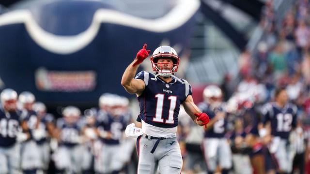 Patriots wide receiver Julian Edelman