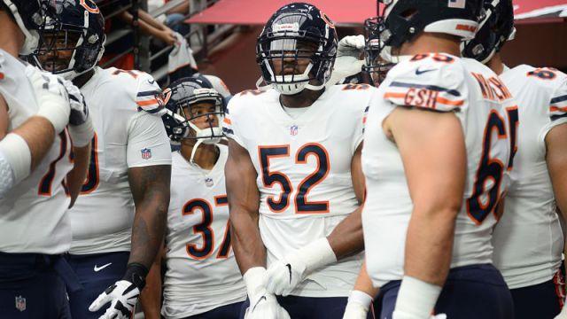 Chicago Bears pass rusher Khalil Mack