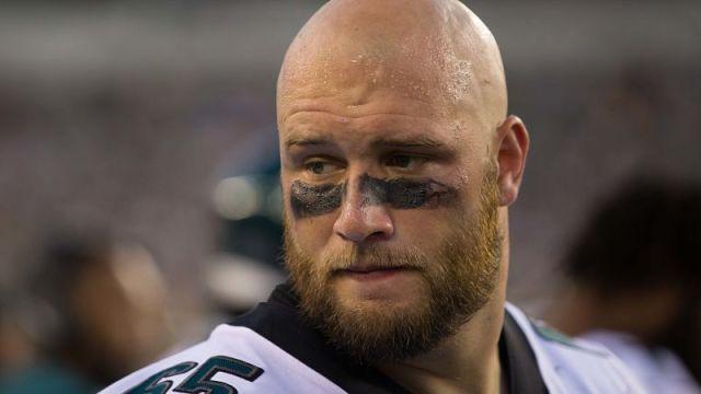 Philadelphia Eagles offensive tackle Lane Johnson