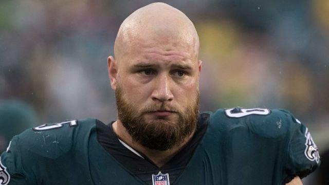Philadelphia Eagles tackle Lane Johnson