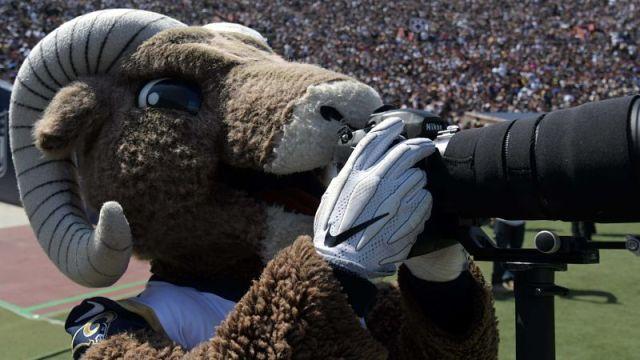 Los Angeles Rams mascot