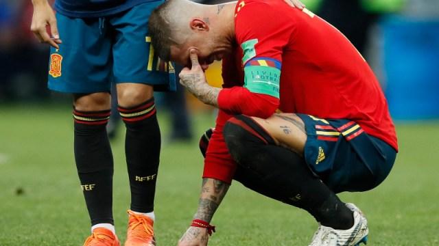 Spain defender Sergio Ramos