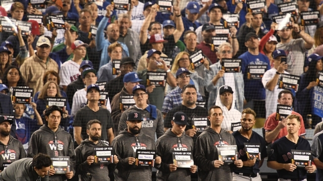 Red Sox Stand Up to Cancer