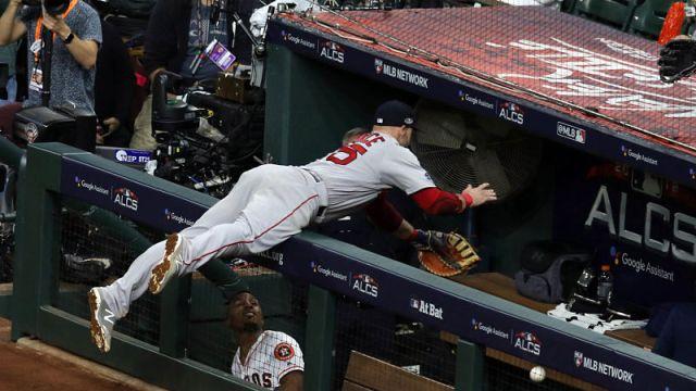 Boston Red Sox first baseman Steve Pearce
