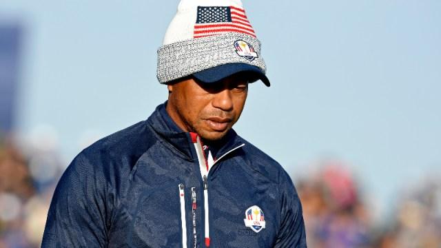 United States golfer Tiger Woods