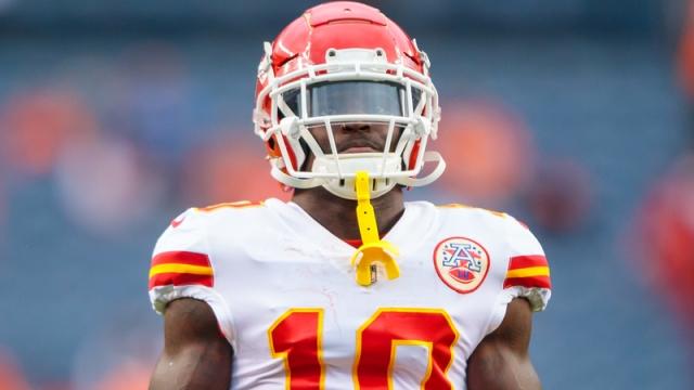 Chiefs wide receiver Tyreek Hill