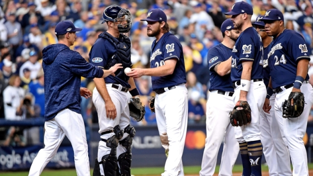 Milwaukee Brewers Starting Pitcher Wade Miley