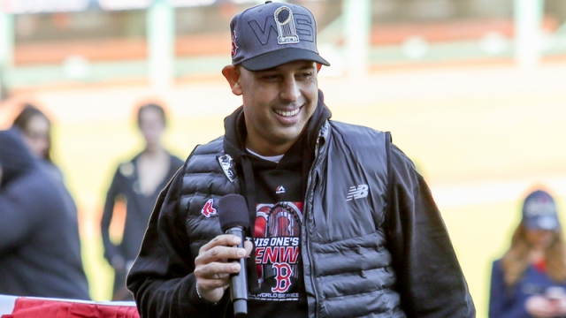 Former Red Sox manager Alex Cora