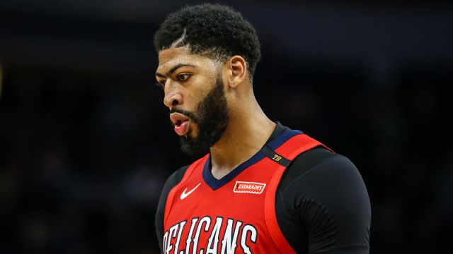 New Orleans Pelicans forward Anthony Davis