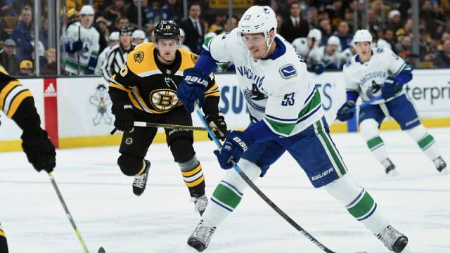 Vancouver Canucks forward Bo Horvat