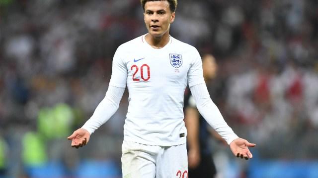 England midfielder Dele Alli