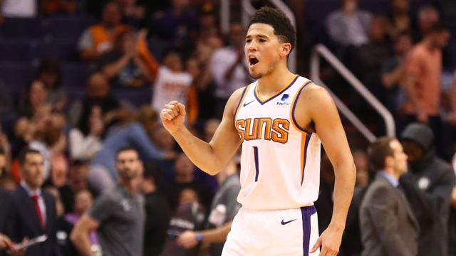 Phoenix Suns guard Devin Booker