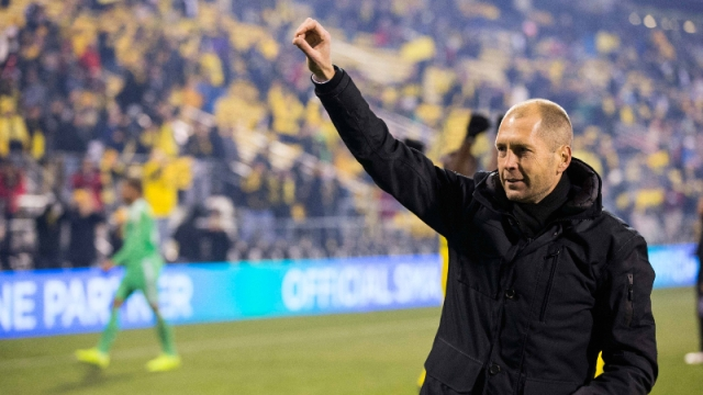 Columbus Crew SC head coach Gregg Berhalter