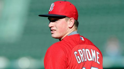 Boston Red Sox pitcher Jason Groome