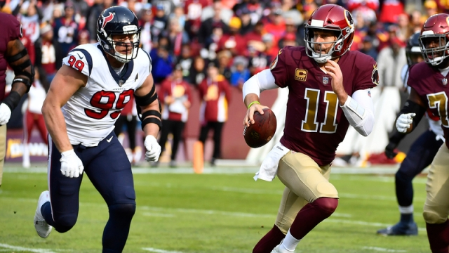 J.J. Watt, Alex Smith