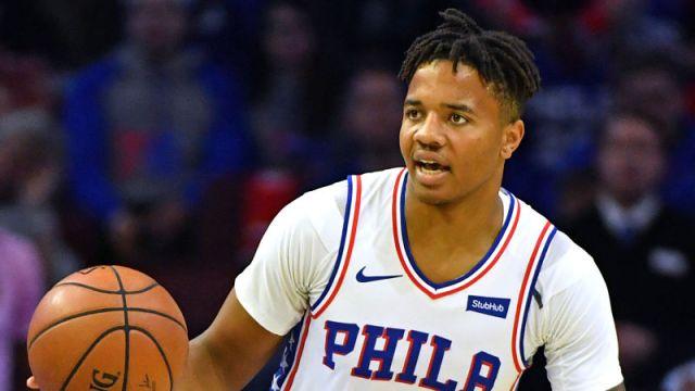 Philadelphia 76ers guard Markelle Fultz