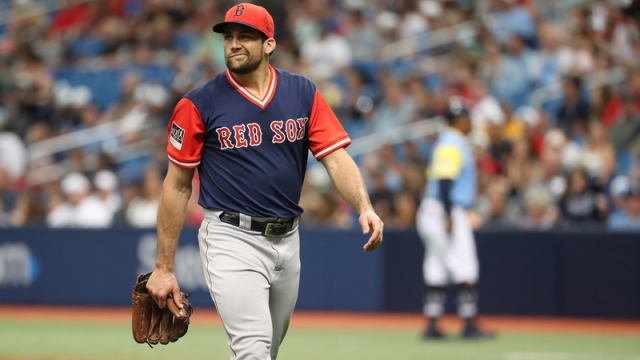 Right Handed Pitcher Nathan Eovaldi