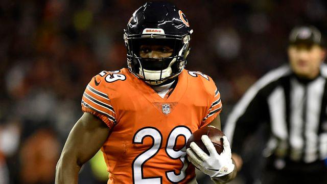 Chicago Bears running back Tarik Cohen