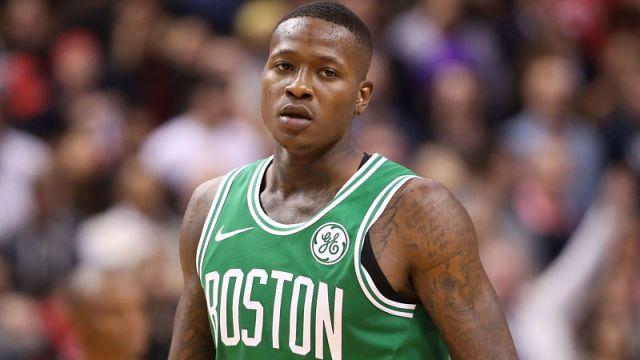 Boston Celtics guard Terry Rozier