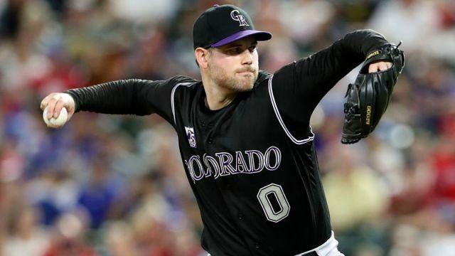MLB pitcher Adam Ottavino