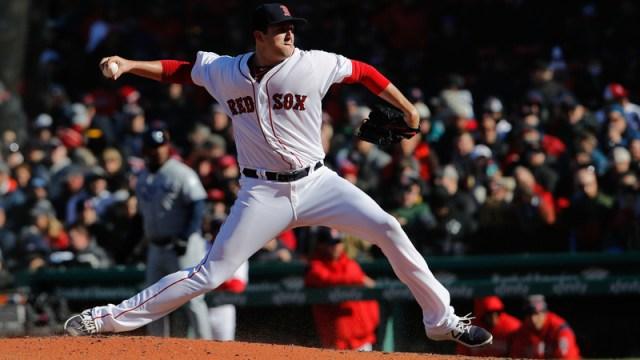 Boston Red Sox Minor League Pitcher Carson Smith