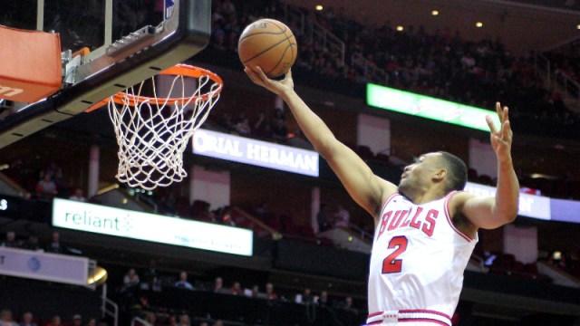 Chicago Bulls forward Jabari Parker