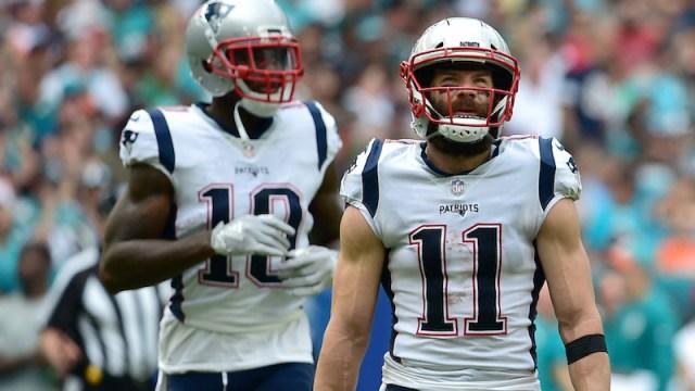 Patriots wide receiver Josh Gordon