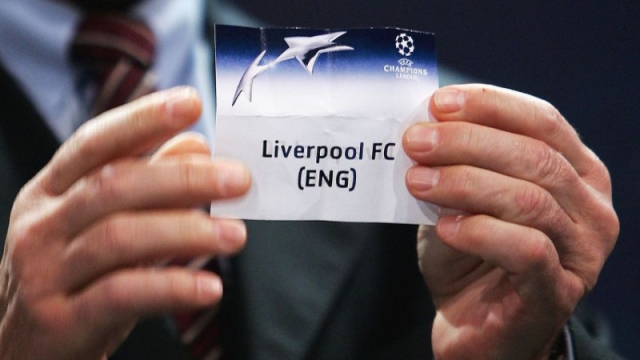 Liverpool Champions League draw