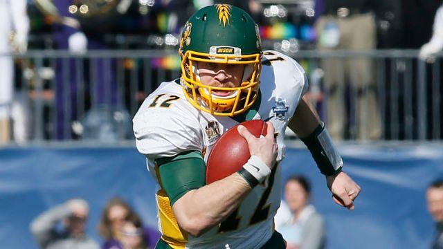 North Dakota State quarterback Easton Stick