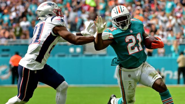 Miami Dolphins running back Frank Gore